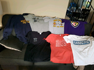 Men's used Tshirts and one hoodie