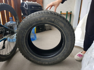 2x 195/65 R15 winter tires for sale