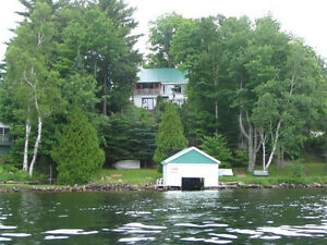Cottage - Magnificient view of Lake Louisa
