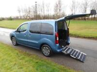 2015 Peugeot Partner Tepee 1.6 Hdi WHEELCHAIR ACCESSIBLE ADAPTED VEHICLE CAR WAV