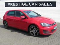 2013 Volkswagen Golf 2.0 TDI GTD 5dr Diesel red Manual