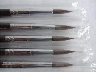 5pcs Dental Porcelain Brush Pen 8 Dental Lab Equipment New