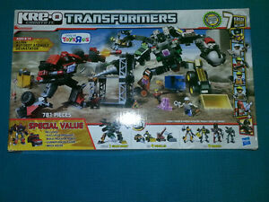 Transformers figures and Kre-o $ or Trade for Retro Games