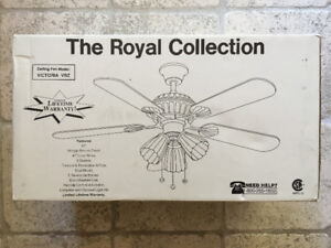 """Ceiling Fan: """"The Royal Collection"""": Unopened"""