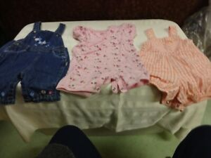 Lot 8 size 6-12 months girls clothes