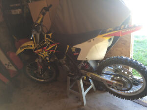 2003 rm125 with big bore kit