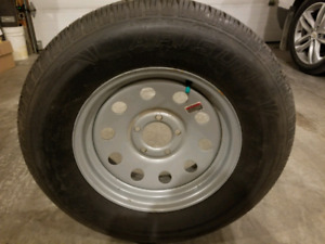 New spare trailer tire