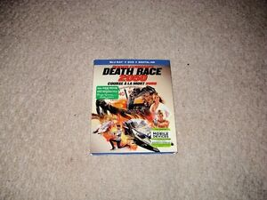DEATH RACE 2050 BLURAY AND DVD COMBO SET FOR SALE!