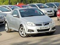 2009 Vauxhall Tigra 1.4L EXCLUSIV 16V 2d 90 BHP Convertible Petrol Manual