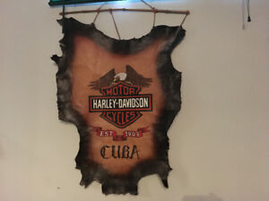 ****!!!! Harley Sign Leather !!!!****