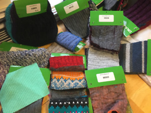 Wool Swatches