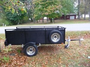 UTILITY TRAILER , 50 X 8 FT TILT/LOAD 5X8 ENCLOSED