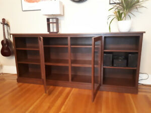 Solid Oak Custom Made Bookshelf