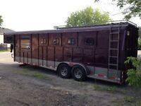 Trailer a chevaux inspecté 2500kg