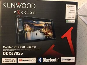 Kenwood Excelon Double Din Stereo. BNIB. $500 or trade for PS4
