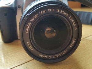 Canon EOS 400D / Rebel XTi with image stabilizer Lens