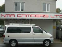 REAR campervan conversion, awning, twin sunroof, 2 berth