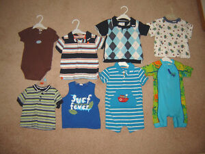 Boys Sleepers, Pj's, Clothes, Winter Sets - 12, 12-18, 18, 18-24 Strathcona County Edmonton Area image 9