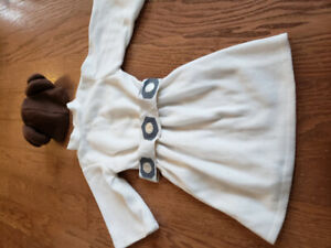 Girls Princess Leia Halloween Costume