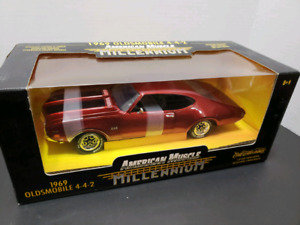 1969 OLSMOBILE 442 DIE CAST CAR*AMERICAN MUSCLE