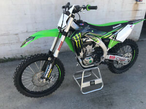 2018 KAWASAKI KX450F LOW HOURS (MINT COND)
