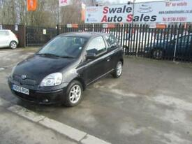 2005 55 TOYOTA YARIS 1.3 COLOUR COLLECTION VVT-I 3 DOOR 86 BHP