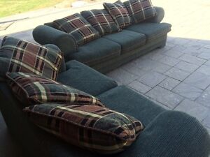 couch and love seat,