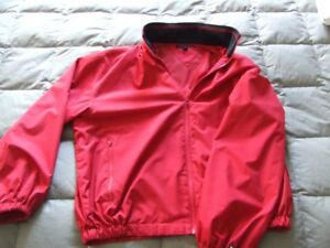 Manteau coupe-vent TOMMY HILFIGER rouge