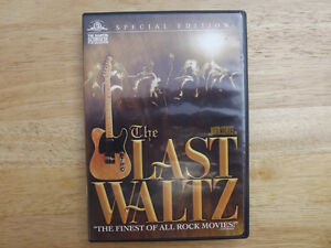 """FS: 1976 The Band """"The Last Waltz"""" Their Final Concert DVD"""