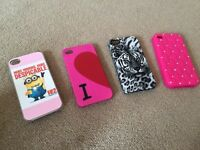 5 different iPhone 4 cases