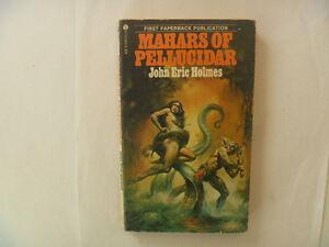 MAHARS Of Pellucidar by John Eric Holmes - 1976 Paperback
