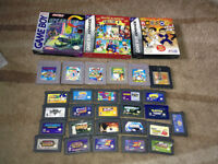 Reg GameBoy And Advance GBA Games And Accessories