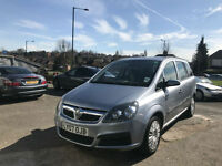 2007 VAUXHALL ZAFIRA LIFE 1.6i PETROL 16v ( A/C ) 7 SEATER *DRIVE EXCELLENT *
