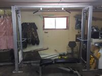Weights and cable machines for sale!