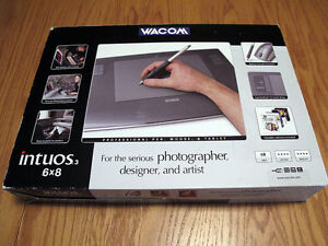 Wacom Intuos 3 - 6x8 Pen Tablet
