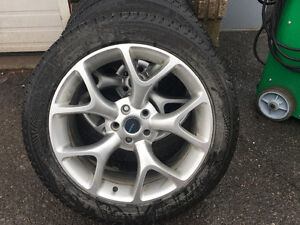 Tires and alloy rims winters