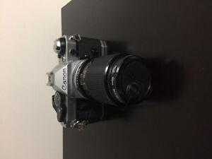 Canon Ae-1, 35mm Film Camera