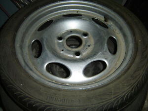 Three hole rim and radial tire for 2008 smartcar for two 155/60/
