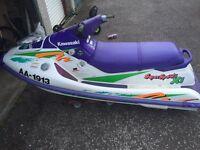 Kawasaki 750xi jetski