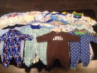 0-6 months baby boy clothing