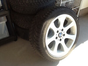 Winters tires and rims for BMW