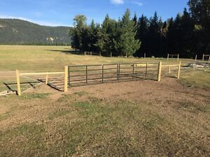 Custom fencing-BOOK NOW! Williams Lake Cariboo Area image 2