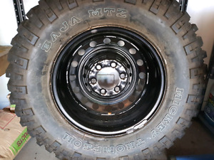 """22"""" BMF RIMS with TOYO  A/T Tires"""