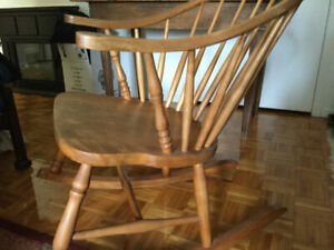Chaise Windsor des annees 1930--- Windsor chair, 1930's