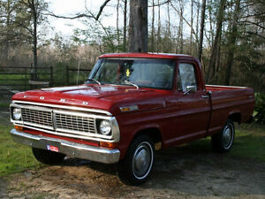 Wanted 1970's Ford Pickup Truck
