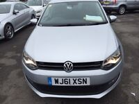 VW POLO 1.2 MATCH 5DR ONLY 20000 MILEAGE