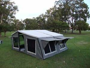 Canvas tent tops for Trailers. Ready to mount camper tops Perth Perth City Area Preview
