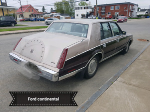 Ford Continental 1983