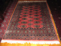 Persain 100% wool hand made/ knotted rug 6 ft x 3.11 ft