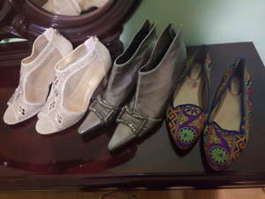 Ladies shoes size 10 -$20/pair OBO